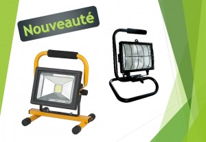 PROJECTEUR LED & HALLOGENE